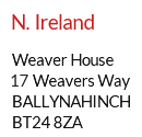 Mail Centre address example - Belfast, Northern Ireland, Ulster