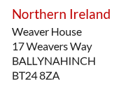UK mailboxes and forwarding in Northern Ireland