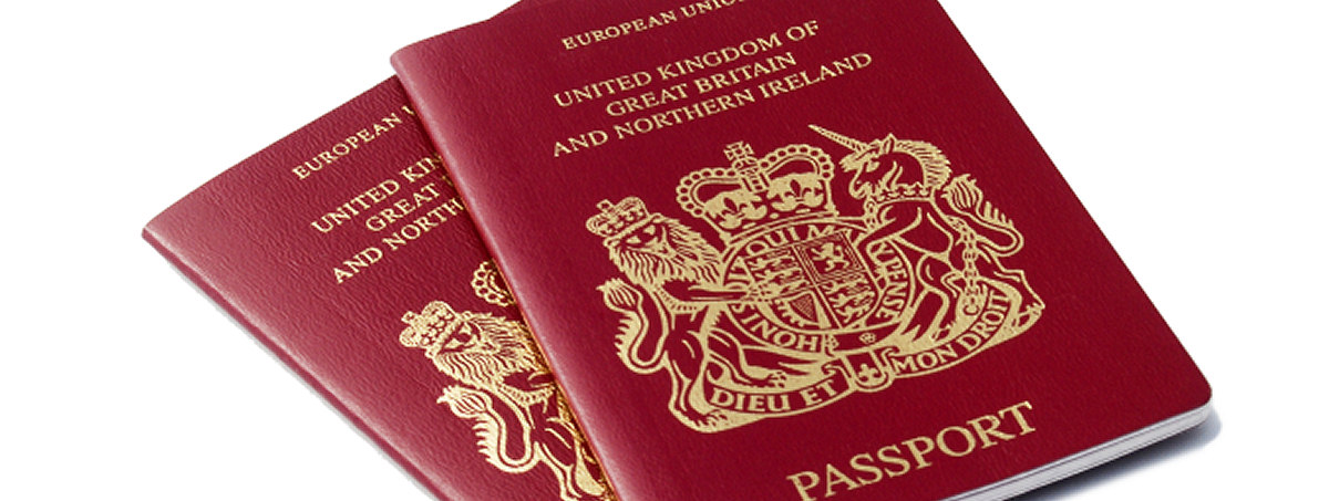UK passports as ID for a British mailbox