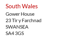 UK Mail Centre address example - Swansea, West Wales